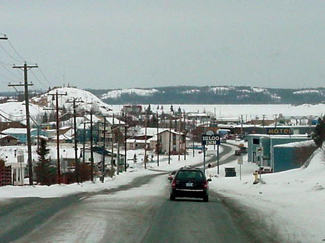 Welcome to the city of Yellowknife...