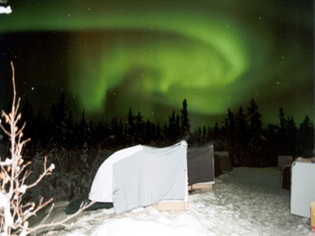 The only photo that worked out well enough. May I present to you: The Northern Light!