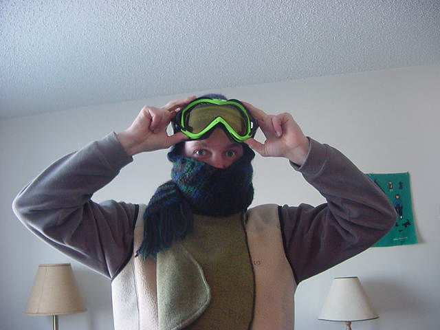 With temperatures below -25 degrees Celsius (max!) and -40 in the winds, I had to prepare myself a bit better than usual.