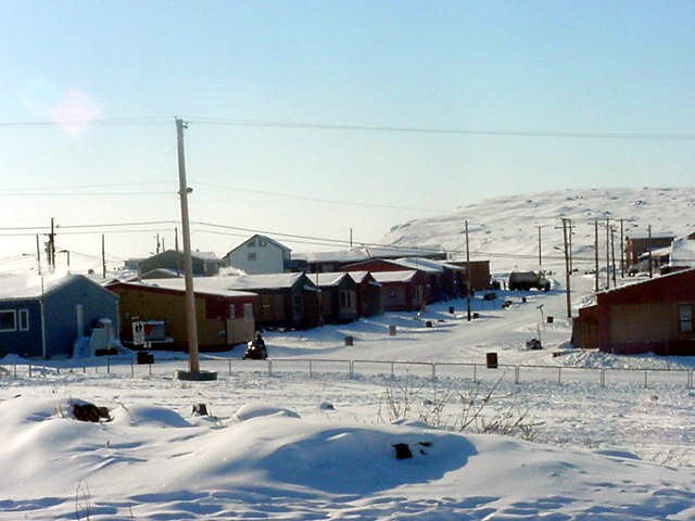 Charming streets of Kugluktuk.