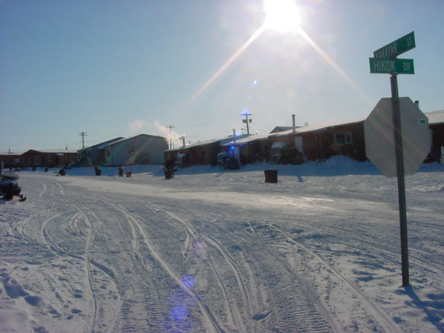 Streets of Kugluktuk.