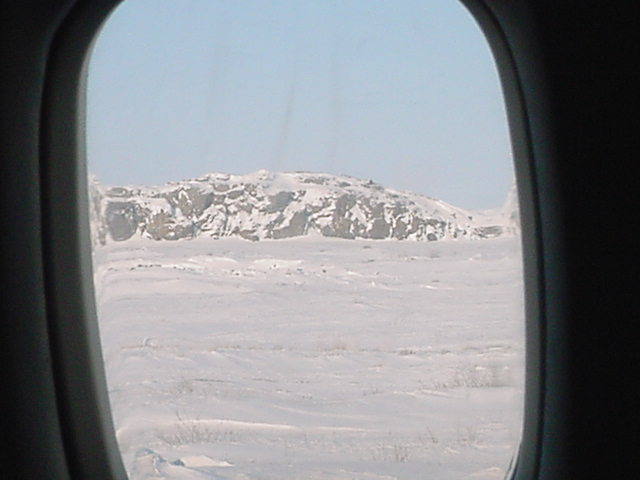 Leaving Kugluktuk.