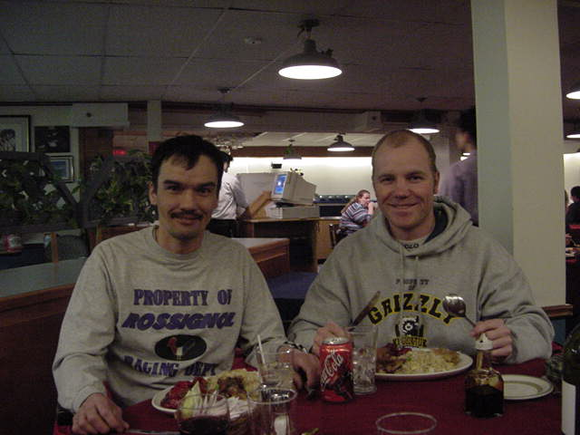 Adamee Itorcheak took me out for a Chinese dinner in Iqaluit after I arrived there in the evening.
