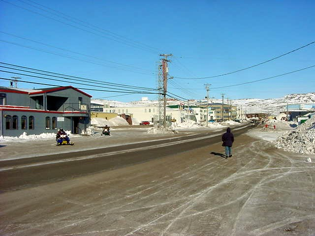 The Iqaluit City Centre...