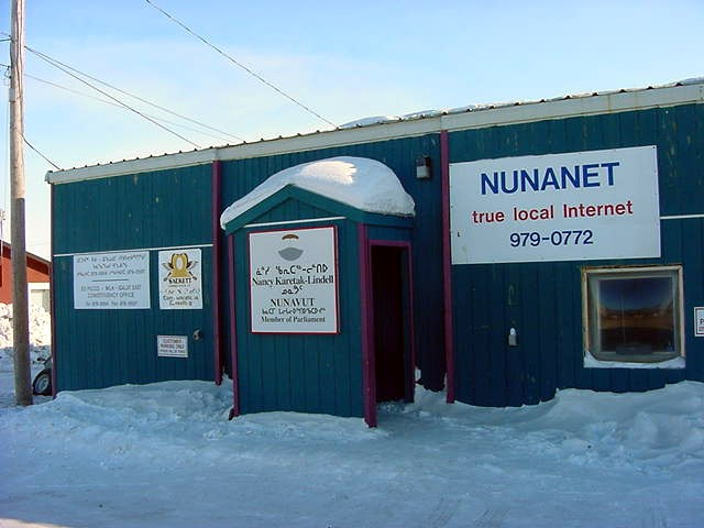 Adamee is the president of the Internet Service Provider Nunanet.com in Iqaluit.