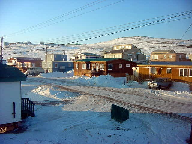 My view from the B&B in Iqaluit.