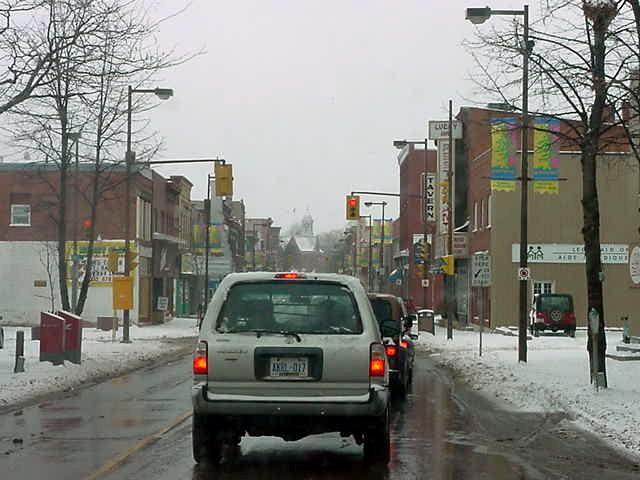 Pembroke Main Street.