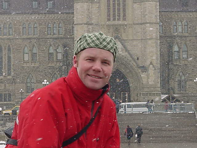 It was snowy and windy, but not cold at all. I think after the cold in the north I hardly get really cold anymore...