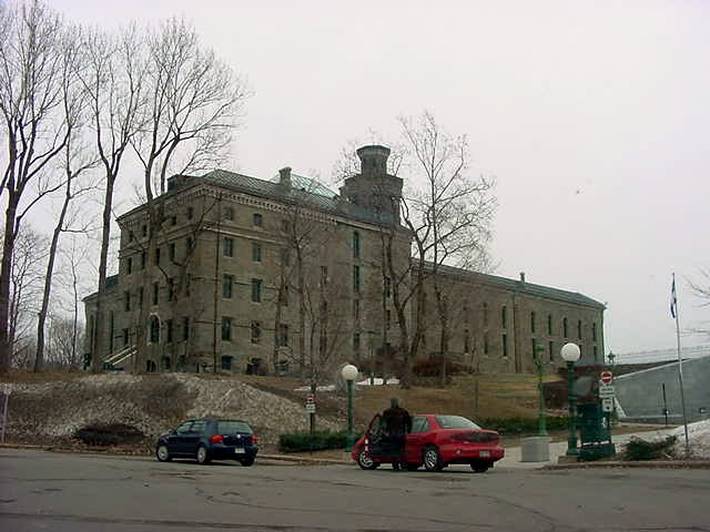 This is still an active prison in Quebec. Scary huh?