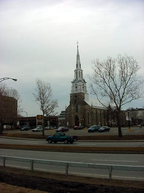 This church in Rimouski is once sold, it is now a museum for the region.