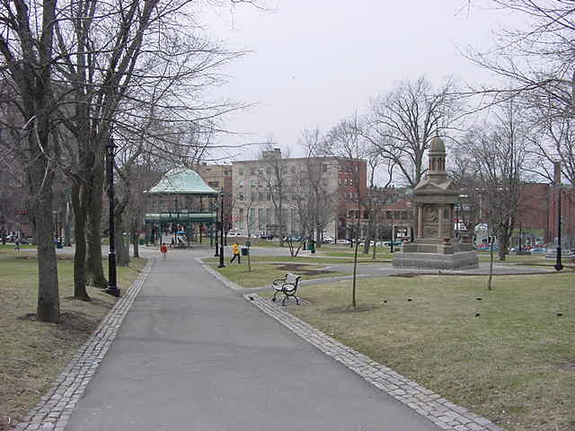 King Square in Saint John.