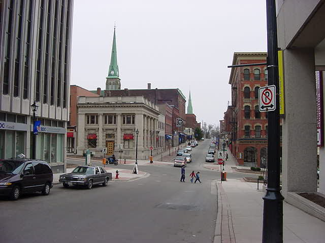 Cosy streets! A lot of movie filming takes place in Saint John, because it seems to represent the city of Boston pretty good.