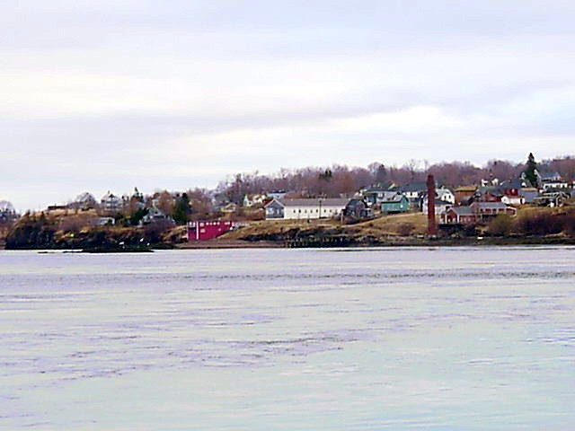 American Eastport, as seen from Deer Island.