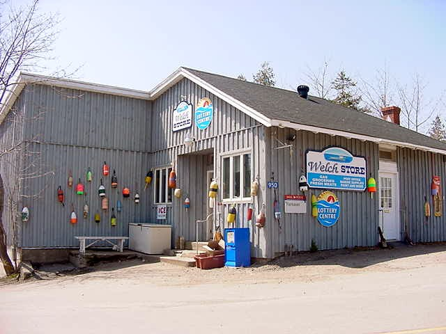 And this is the islands convenience store.