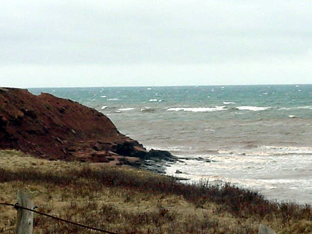 With the wind today, this would be a great place to surf would it not? Okay, again, in the summertime...