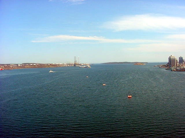 The Halifax Harbour itself.