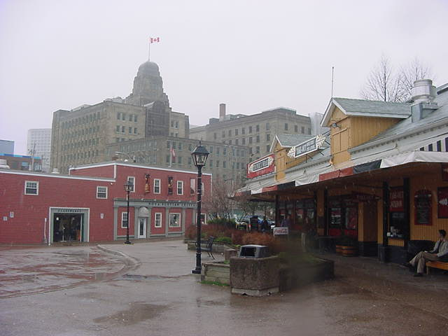 Okay, the weather wasnt really cooperating, but hey- welcome to Halifax!
