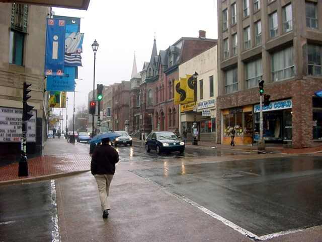 Downtown Halifax, Barrington street.