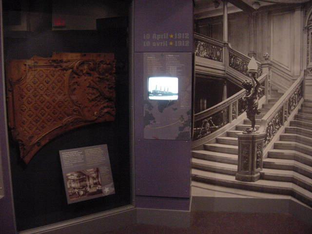 Titanic artifacts at the Maritime Museum of the Atlantic are a touching reminder of the ship<#k#>'s lost luxury, her violent end and the special role our port played as the enormity of the disaster unfolded.