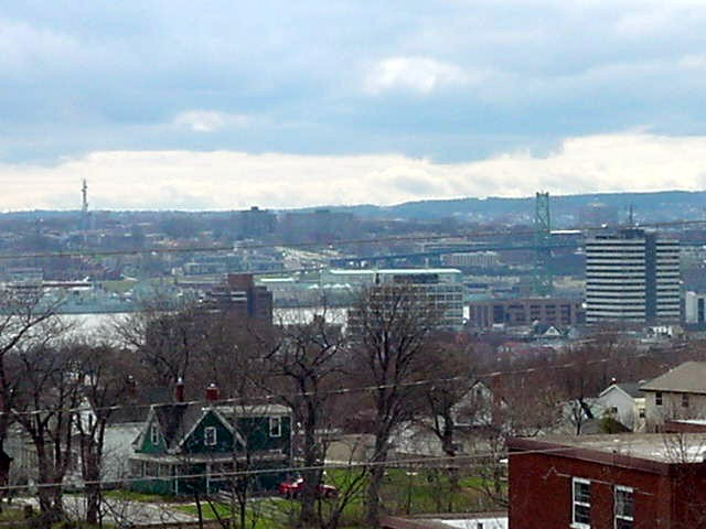 The best thing in Dartmouth is the view on Halifax, Angela repeatedly said.