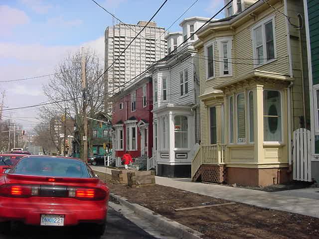 Near my next hosting address on South Street in downtown Halifax.