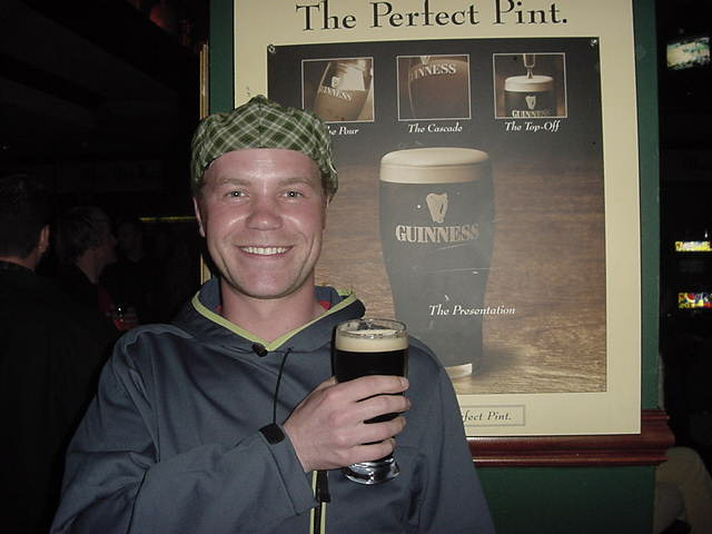 Will Guinness ever sponsor me? I keep on trying!!!