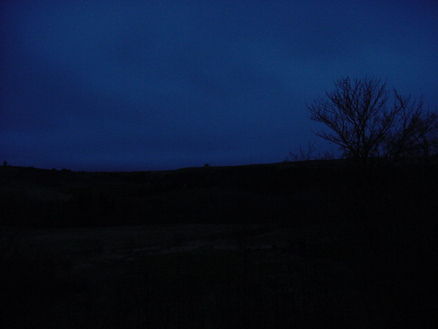 When we got back to the hamlet in St Paul, the night had already set in.