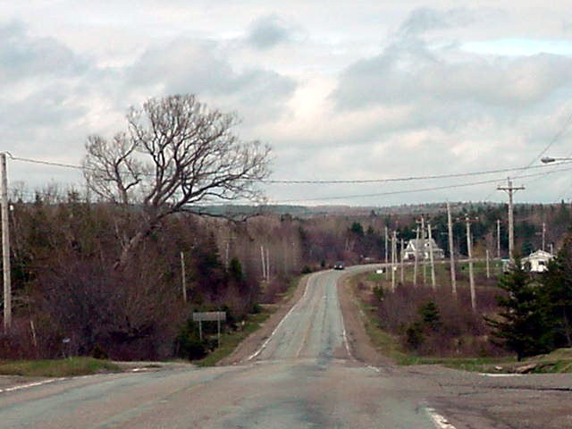 We continued driving up north towards the town called Mabou.