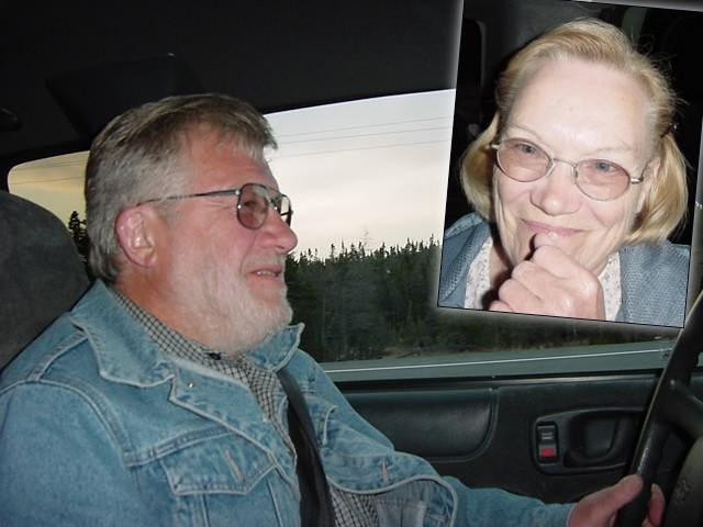 Bob and Eva Striha picked me up from the gas station in Whitbourne and took me along to their home in Markland.