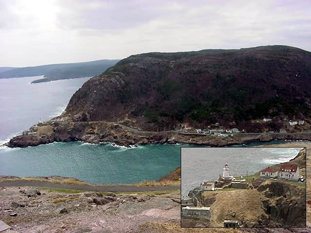 On the other side of The Narrows we saw the remains of the centuries-old Fort Amherst. One little road connects the few houses and the lighthouse to the rest of town.