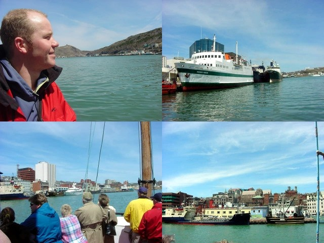 The Scademia offers a great tour through the harbour and yes, we were very lucky with the weather.