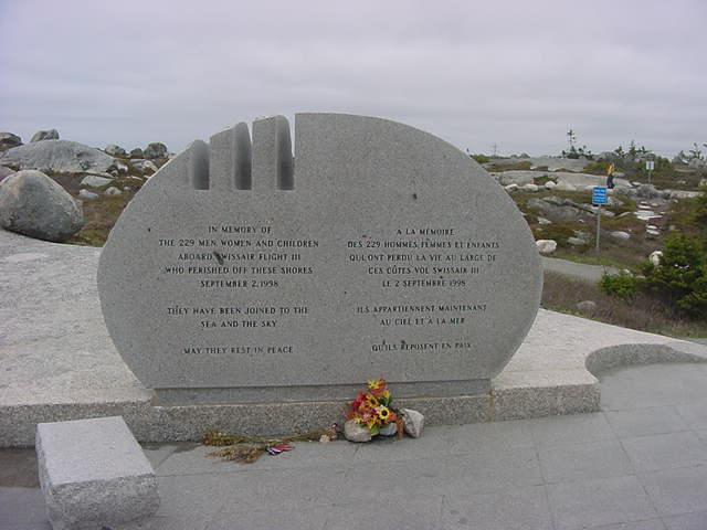The communities of Peggys Cove and Blandford were central to the recovery operation following the crash of Swissair Flight 111. The Whalesback and Bayswater Beach Sites were chosen for their proximity to those communities and because the have view lines to the crash site and each other.