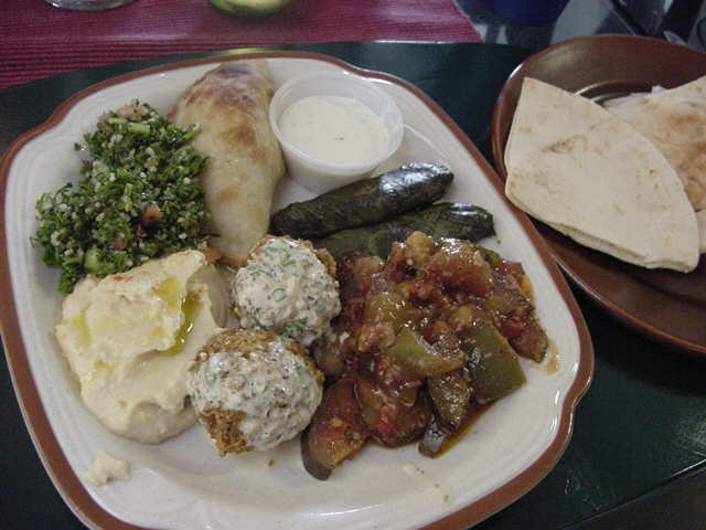 I had this, they called it the Mediterranean  Combo and it was GOOD!
