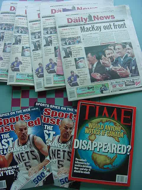 Ah! I had not seen that Sports Illustrated yet... And I love that headline on Time :-)