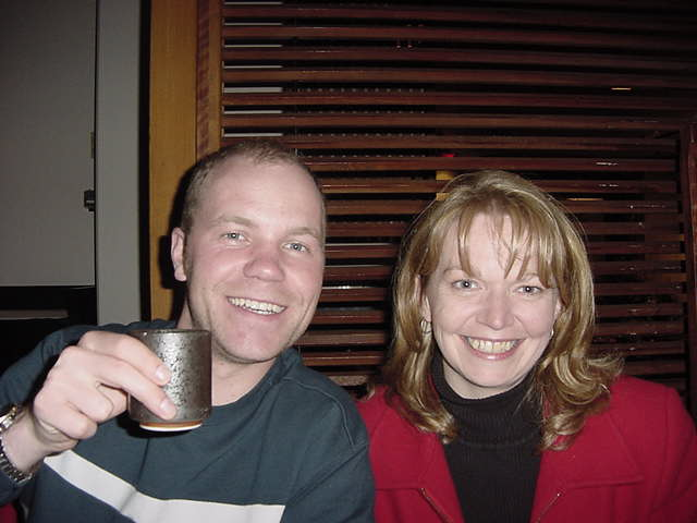 Me and Glenda.