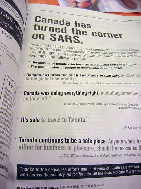 How Toronto tells the world that the city is a safe place to visit.