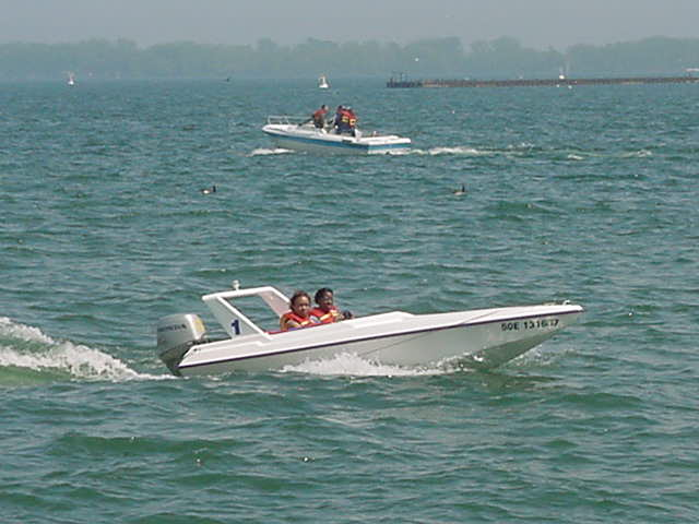 I could see it is a beautiful Saturday for many people on the water.