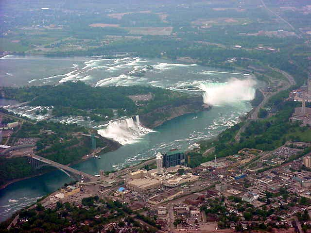 Ladies and gentlemen, may I present to you: The Niagara Falls!