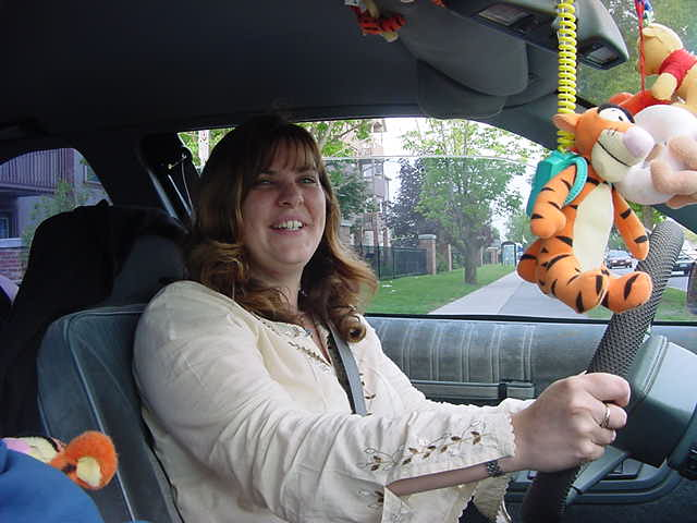 Heather VanGrootheest has been following my travels and offered a hand with transport.