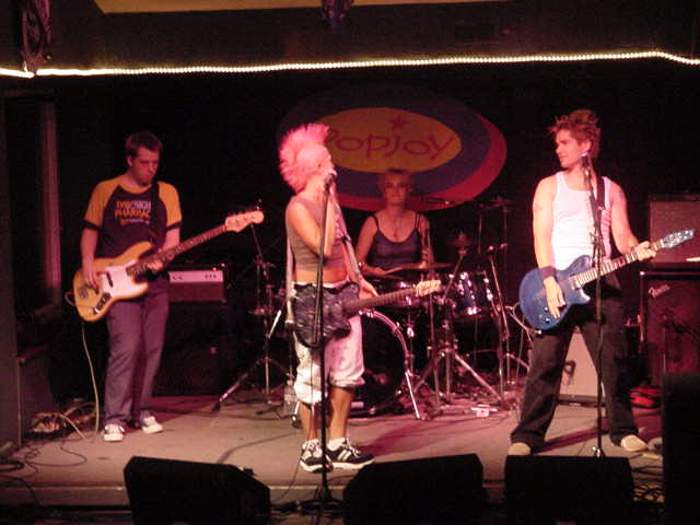 But that changed when a band named Pop Joy started to perform on stage!