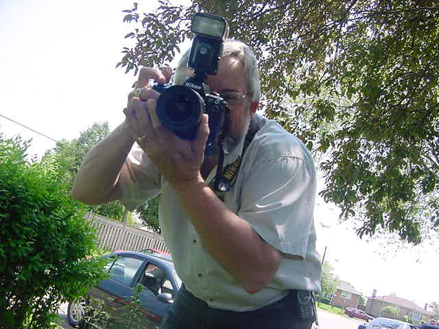 Ted Brown is the reporter and photographer for The Independent & Free Press, the local newspaper.