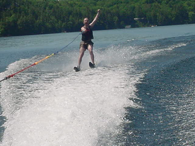 This was fantastic! I can waterski!