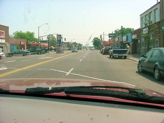 Downtown Espanola.