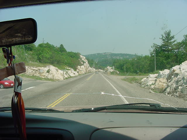 On this extra day in Espanola Cathy decided to show me Manitoulin Island.