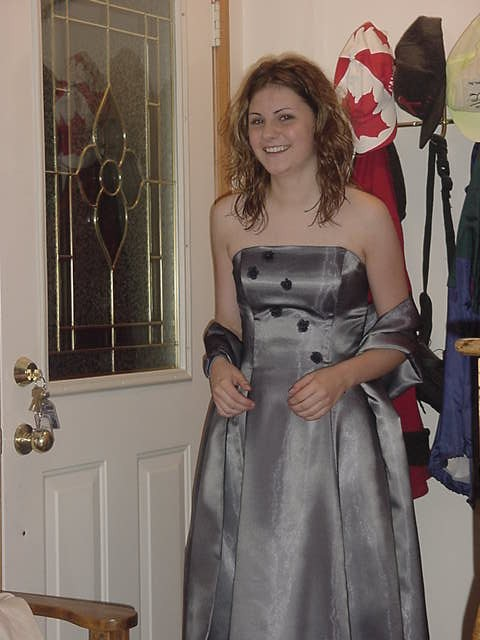 Ah, how cute! Is everybody at this prom looking as good as this?