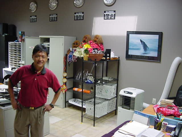 Andy Ling is the director of the Canada-One Travel Company in Winnipeg, a whole-saler for travelling agencies.