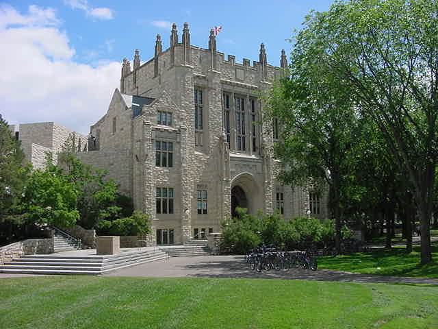 ... but buildings like these make it a real historic university!