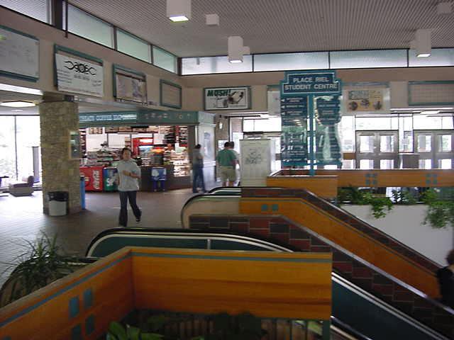 Sometimes those universities look like European subway stations...