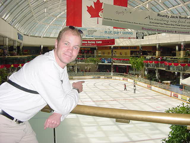 I mean, not every mall has a ice skating ring...