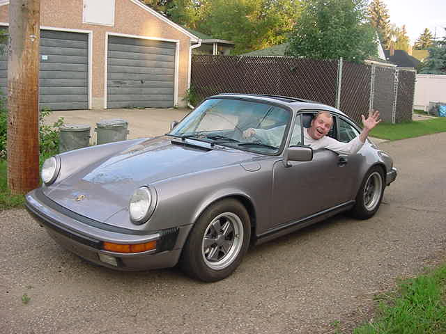 was seriously pulling his leg when I asked him if I could drive his Porsche. I never expected him to say -Yes, sure!� I was driving a bloody Porsche!